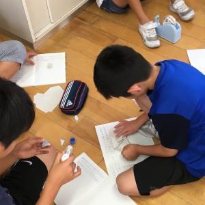 方法別グループ学習 『四角形の4つの角の和」できなくても達成感