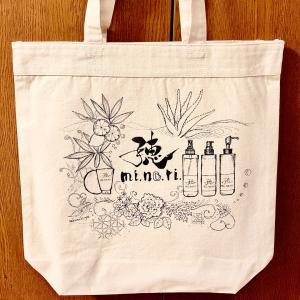 【オーダー作品】mi.no.ri.あるトートバッグ