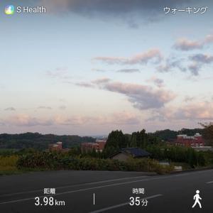 早朝ウォーキング 寒くなってきた( ´  ` )