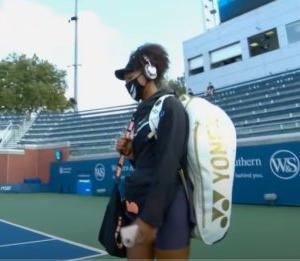テニスのW&Sオープンのシングルス3回戦で大坂なおみが勝利、準々決勝へ 新型コロナ対策で無観客