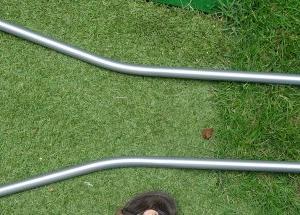 エアレーション用の芝カットパンチを購入し、庭の姫高麗芝のエアレーションにトライ
