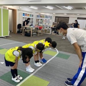 筑波小!OB・インターハイ選手が教える スピードクマ歩き特訓講座!