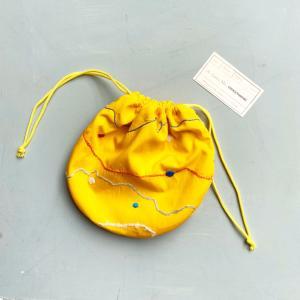 No.39 黄色いお祭り気分 刺繍のおとぎの森