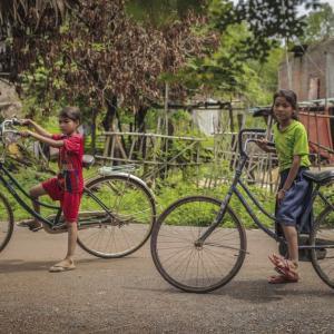 素敵な自転車