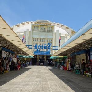 ガラガラのセントラルマーケット