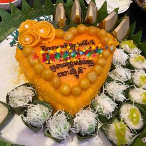 カンボジアのお誕生日会