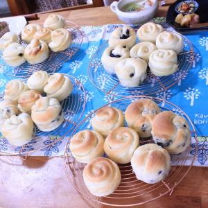 1月❁パンレッスン【黒豆バターパン/塩バターパン】