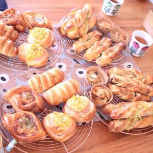 6月❁パンレッスン【スティックパン+お惣菜パン】