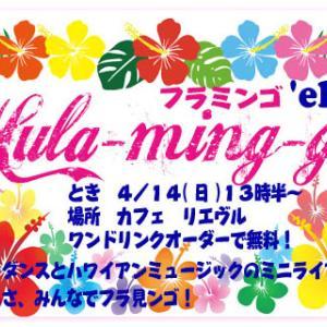 ハワイアンイベント告知:フラミンゴ2