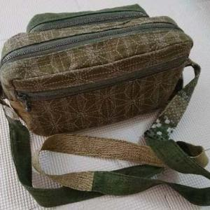 お客様作品*和柄のショルダーバッグです。