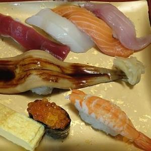 今日のランチは丸ビルの魚がし鮨