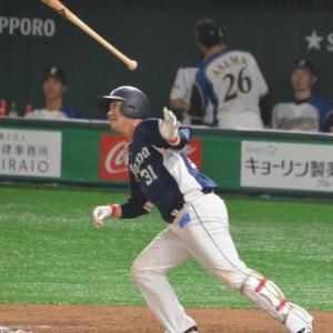 ファイナルの勝利を祈念して、内野手の勇姿でも (^人^)。by あっくん