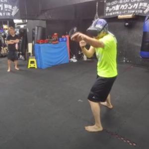 VRボクシングゲームで大盛り上がり!! 19:00-6:00 新宿歌舞伎町キックボクシングジム