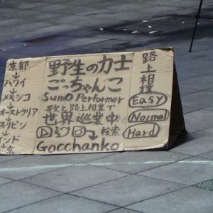 シネシティ広場で相撲をとってきました!! 昔の歌舞伎町殴られ屋の晴留屋明さん思い出しました!?