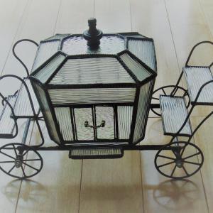 熊本の清田様がステンドグラスの「夢の馬車」を作りました。ご紹介!