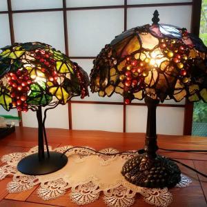 仲良し二人組、ランプを数多く制作されています。今回は、最近の作品(⋈◍>◡<◍)。✧♡