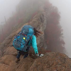 14日.石鎚山の紅葉を見に