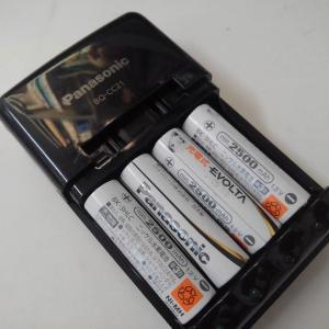 充電式電池を5年間使って!次は
