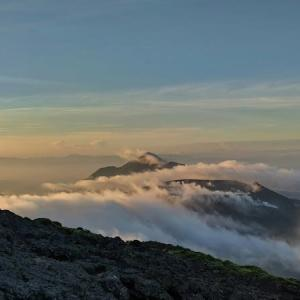 9日.彼女一人で早朝お山歩、韓国岳