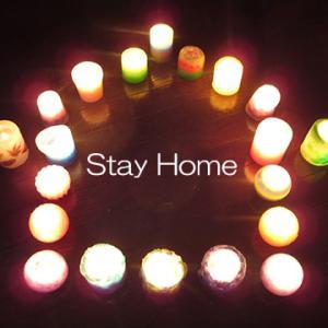 キャンドル灯して元気を!(Stay Home)