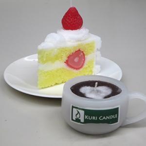 ショートケーキ・キャンドル