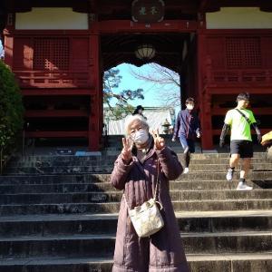 天皇誕生日  日和に・文京区護国寺参りへ