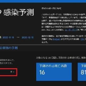 Googleが『日本版COVID-19感染予測』を提供してくれた~!