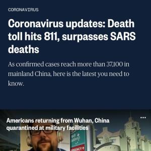 アメリカでは24時間で811人が亡くなりました