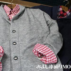 【Men's】スウェット生地 ショールカラー カーディガン入荷!