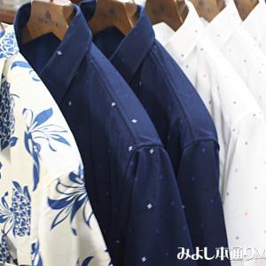 【アロハシャツ&夏ポロ】アロハはシンプルなパイナップル柄、BDポロは速乾タイプです。