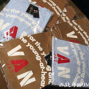 【VAN】定番バックプリントTシャツ追加入荷しました!