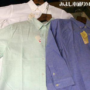 【Men's】リネンBDシャツ(日本製)、OXBDシャツ半袖・七分袖シャツ入荷!