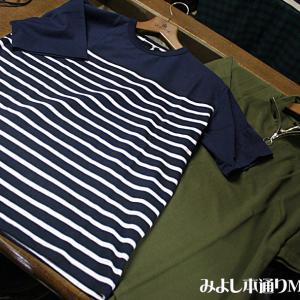 【Men's】ヘビーウエイトシリーズ、ボーダーTシャツ&ジップアップTシャツ入荷!