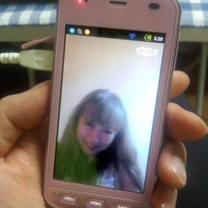 エオラさんとビデオチャット