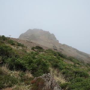 20200528(木) 安達太良山1700登頂、寒気の霧が鬱陶しい!
