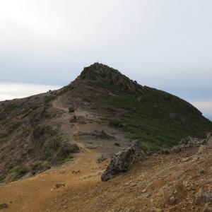 20201019(月) 牛ノ背、峰の辻、勢至平を経て奥岳に下山