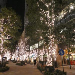 20210114(木) 東京ミッドタウン日比谷 HIBIYA Magic Time Illumination