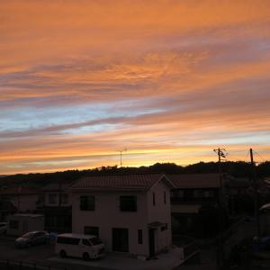 20210620(日) 夕焼け空/わが家より