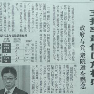 20210722(木) 無為無策・失政だらけの独裁・暴走・パワハラ菅内閣は即刻駆除し日本の未来を守ろう!