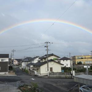 20210906(月) 綺麗な虹が…