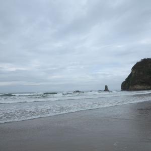 20210909(木) 合磯海岸(二見ヶ浦)より合磯岬、塩屋崎を望む