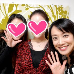 三重県から前日入りして、笑顔のレッスンを受けてくださいました♪