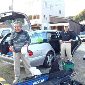 鯛釣りに行ってきました。 2011/11/04  錦生丸レポート