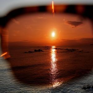 東京湾松輪漁港ドライブ、マジックアワー葉山・森戸・裕次郎灯台・江ノ島望む