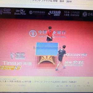 卓球グランドファイナル男子シングルス準々決勝 林高遠 4vs0 林昀儒。林高遠が準決勝進出!