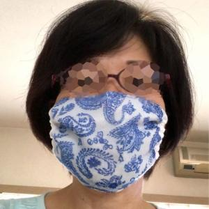 O先先生から、送った涼しいマスクの着画が届きました。ありがとうございます!