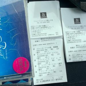 TSUTAYAで借りたCDを返却。ついでにTSUTAYAが入ってるスーパー・ヤオコーで買物すると言ったら、夫に買物を頼まれました。ガーリックラスク、玄米茶ティーパック。夫が書いた買物メモ。私が書いたプルーン(ドライ・生)も。