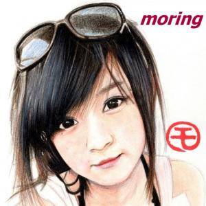 台湾の女の子♪林草莓(シャオ ツァオメイ)似顔絵