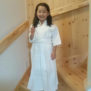 白の剣道着
