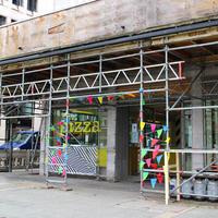 フランクフルトのオペラ広場で期間限定の飲食スペースが登場
